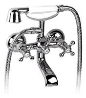 Смеситель для ванной двухвентильный